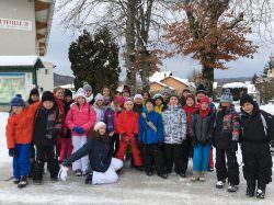 Classe de neige pour les CM2