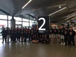 29 élèves de la classe Rugby du collège en Afrique du Sud