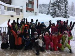 Classe de neige CE1 Lamoura